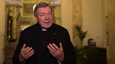 Cardinal George Pell allegedly exposed himself to three boys at Torquay change rooms.