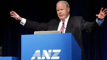 Outgoing ANZ CEO Mike Smith says the bank is stronger and more profitable than when he became chief in 2007.