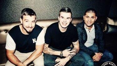 Liam Foran, Jordan Tulk and Frank Farrugia.