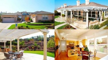 The home in California.