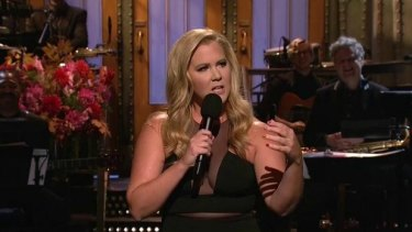 Amy Schumer hosting <i>Saturday Night Live</i> this weekend.