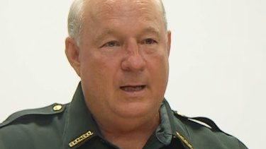 Line in the sand: Bay County Sheriff Frank McKeithen in a file photo.