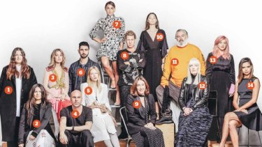 The driving force of the new-look Fashion Week are a group of industry movers and shakers.
