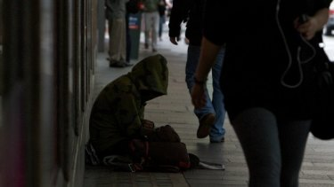 More than 400 people were sleeping rough in Sydney on census night in 2016.