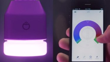 The LIFX light-bulb and app.