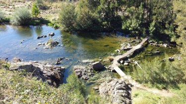 The Molonglo River.