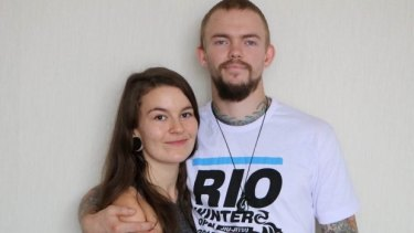 Forced to flee: Laura McQuillan and Jason Lee.