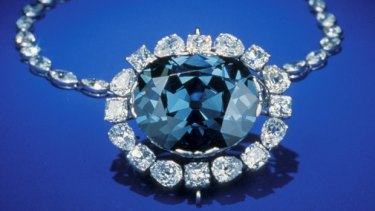The legendary Hope Diamond is a little over one-tenth of the size of the unfinished 404 carat Lucapa stone. It is understood to ahve weighed between 110 and 115 carats before it was cut.