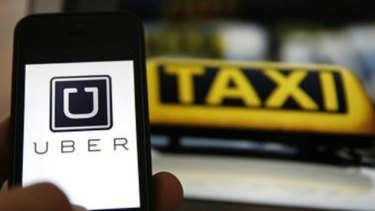 Uber Technologies has asked its Russian drivers to temporarily bear the load of a new tax charge.