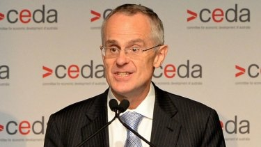 Chairman of the ACCC Rod Sims, who will speak at a CEDA event on Tuesday.