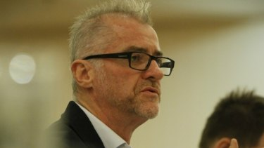 TWU secretary Tony Sheldon says airports and airlines 'don't give a damn' about the workers.