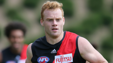 Retiring Bomber Adam Cooney.