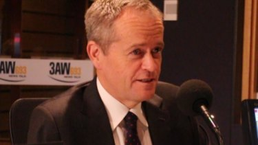"Opposition Leader Bill Shorten told 3AW's Neil Mitchell that while Sunday penalty rates should not be cut ""just like that"", he would accept the independent tribunal's decision on the issue."