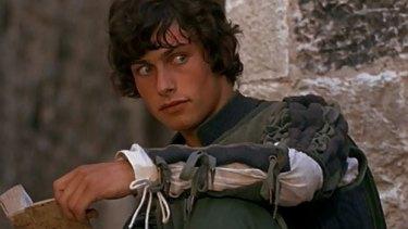 Bruce Robinson as Benvolio in Franco Zeffirelli's <i>Romeo & Juliet</i>.