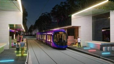 LED lighting is one of the updates to plans for upgrading Alinga Street terminus.