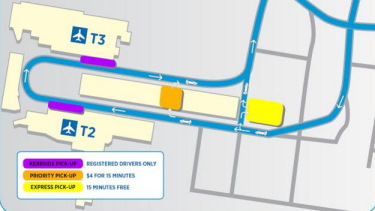 New parking arrangements at Sydney Airport domestic terminal
