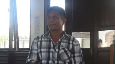 Yohanis Humiang, the captain of a boat of asylum seekers headed for New Zealand, says he asked for help.