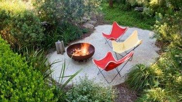 Fiona Brockhoff's coastal garden.