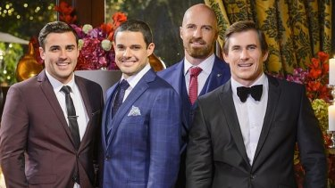 Davey, Luke, Alex and Dave  on The Bachelorette