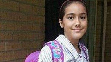 Slain schoolgirl Tiahleigh Palmer.