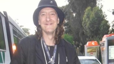 Brendan Bernard, whose severed forearm was found in the Maribyrnong River on February 5.