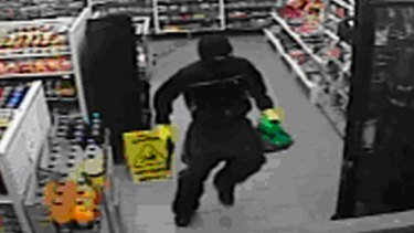 A man armed with a handgun enters a petrol station inNewcastle and demands cash and cigarettes.