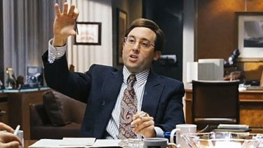Nicky Koskoff, played by PJ Byrne, in The Wolf of Wall Street.