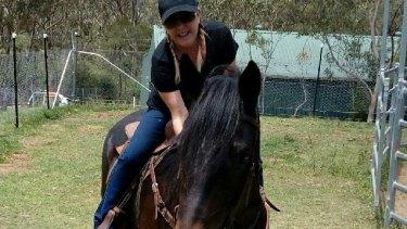 Former ATC employee Chantal Lunardon gave evidence at the Racing NSW inquiry.