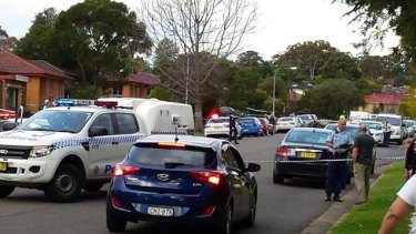 Police are investigating after a man was stabbed in Minto.