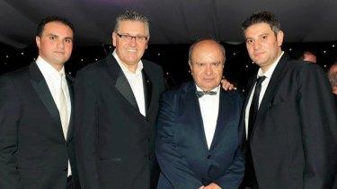 Fayad Fayad, Ray Hadley, Joe Khattar and David Nader.
