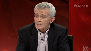 One Nation senator Malcolm Roberts denies the existence of climate change.