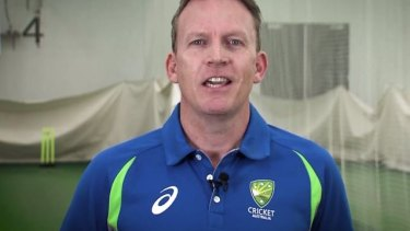 Cricket Australia's lead negotiator Kevin Roberts.