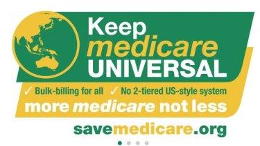 Mr Rogers' 'Save Medicare' website.