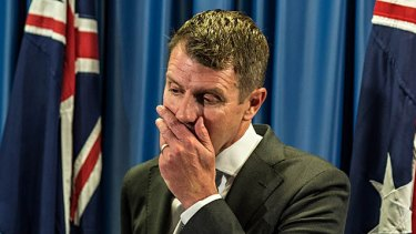 Premier Mike Baird was forced to reverse a ban on greyhound racing in NSW.