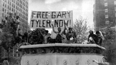 Anger: Gary Tyler's case set off protests and inspired a song by UB40.