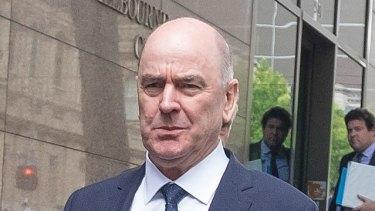 The ringleader of the Ultranet scandal, former education department deputy secretary Darrell Fraser.