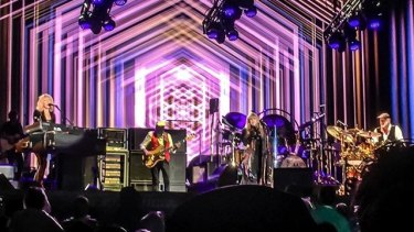 Fleetwood Mac followed their Sydney performance with a shaky start in Brisbane.