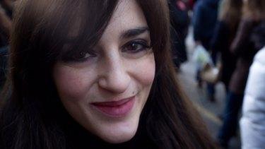 Author Nicole Trilivas.