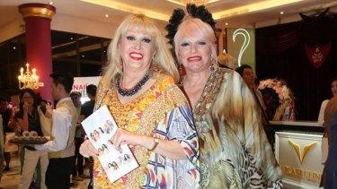 Golden Girls, Carlotta and Simone Troy.