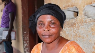 Adama Bangura, who was the best friend of Admire Kabba, the nurse who helped care for Mohamed Mansara.