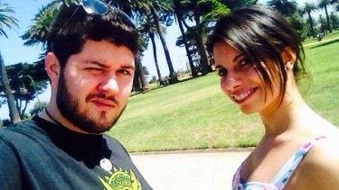 Alberto Paulon and his fiancee Cristina Canedda