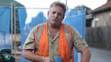 Sydney tradesman Andrew MacRae is the Liberal Party's 'fake tradie'