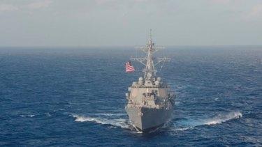 The USS Lassen.