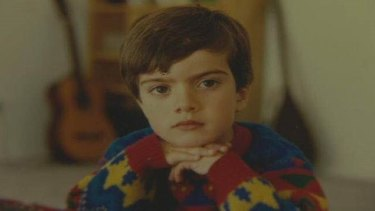 Sam Dastyari at age of 5, when he immigrated to Australia from Iran.