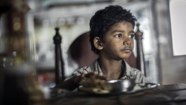 Sunny Pawar provides an astonishing portrayal of Brierley as a young boy.