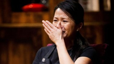 Tears in the kitchen on <i>MasterChef</i>.