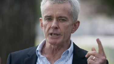 Wants proof: Senator Malcolm Roberts.