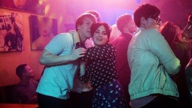 Josh Thomas, Emily Barclay and Hannah Gadsby.