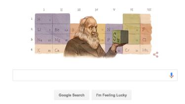 Google's celebratory doodle.