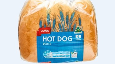 Coles-branded bread is part of the recall.
